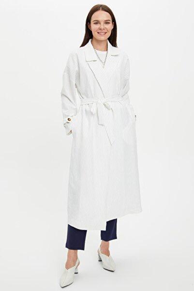 DeFacto Oversize Tesettür Giyim Trençkot