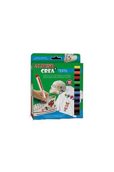Alpıno Alpino Keçeli Kalem 12 Renk Crea Textıl Ar-132