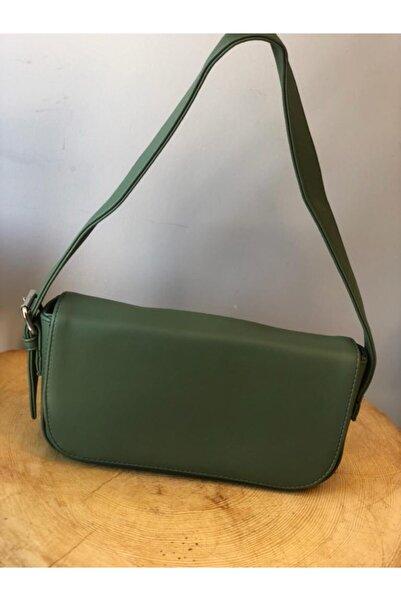 Luna Iremce Kadın Haki Yeşil Askılı Mini Çanta