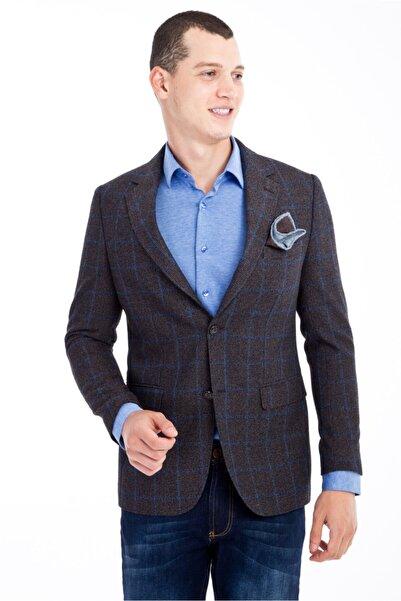 Kiğılı Regular Fit Kareli Ceket