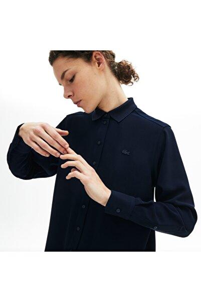 Lacoste Kadın Lacivert Gömlek CF5606