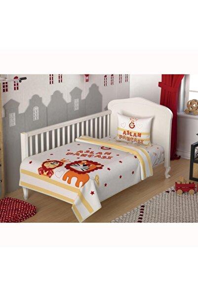 Taç Galatasaray Aslan Parçası Baby Lis.Bebek Pike  Takımı
