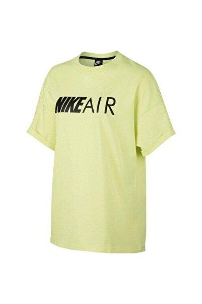 Nike Erkek Sarı Spor T-Shirt Cn7085-335