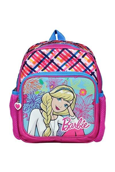 Hakan Çanta Barbie Simli Iki Bölmeli Pembe Anaokulu Çantası - Hakan 96524