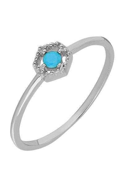Chavin Kadın Gümüş Taşlı Yüzük Mini Eklem Yüzüğü Ed83by