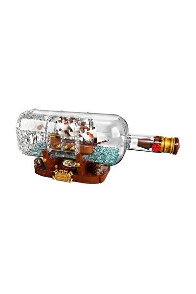 Ideas 21313 Ship In A Bottle
