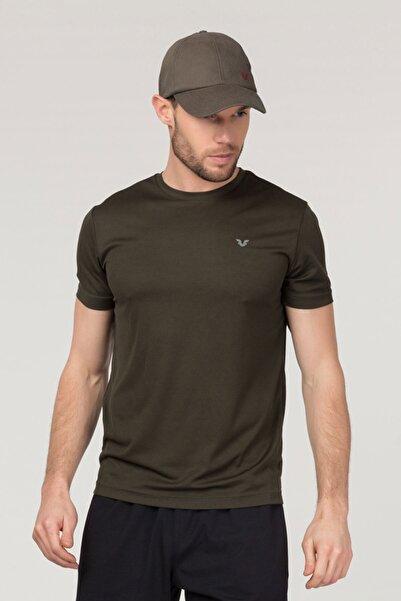 bilcee Erkek Yeşil Antrenman T-Shirt Fs-1332