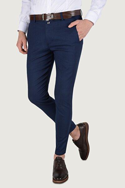 Terapi Men Erkek Lacivert Keten Pantolon 20k-2200228
