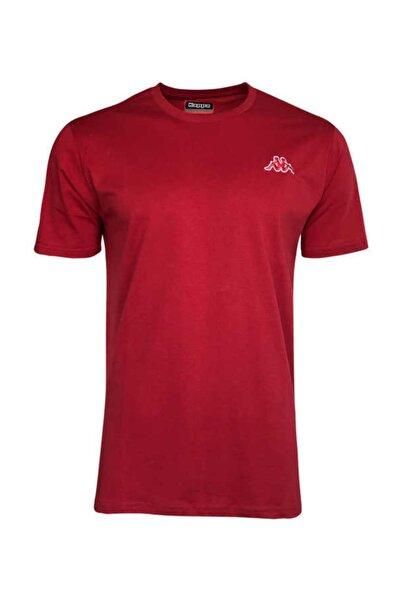 Erkek Kırmızı Basic Cafers T-shirt