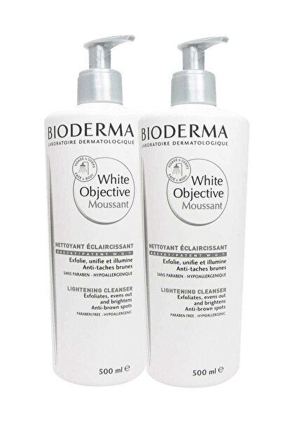 2'li Cilt Temizleme Köpüğü - White Objective Foaming Cleanser 500 ml 8699956511009