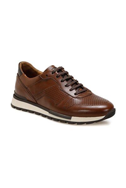 OXIDE Erkek Taba Suni Deri  Sneaker Ayakkabı Uls305 C 19