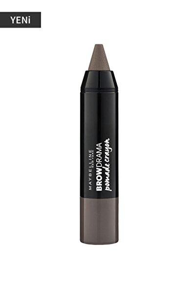 Maybelline New York Orta Kahverengi Kaş Kalemi - Brow Drama Pomade Crayon Medium Brown 3600531312657