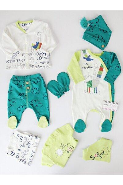 İmaj Erkek Bebek Yeşil Zürafalı 8'li Hastane Çıkışı