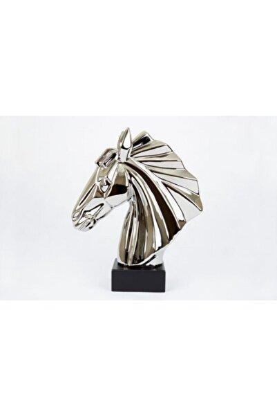 Nehir Dekoratif Gümüş At Başı