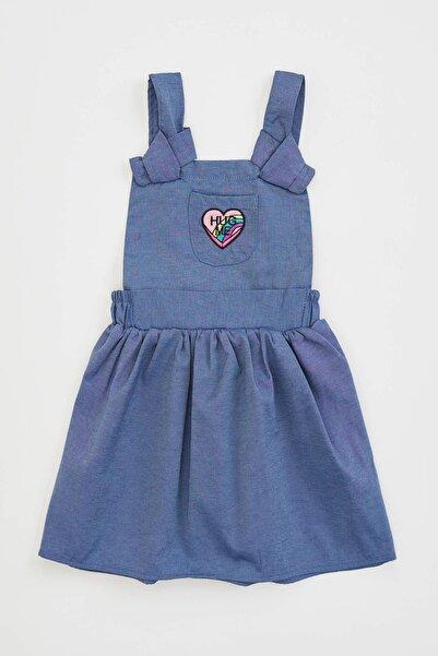 DeFacto Kız Bebek Kalp Baskılı Kısasalopet