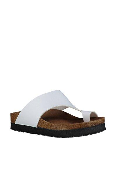 Fox Shoes Kadın Beyaz Terlik D777812009