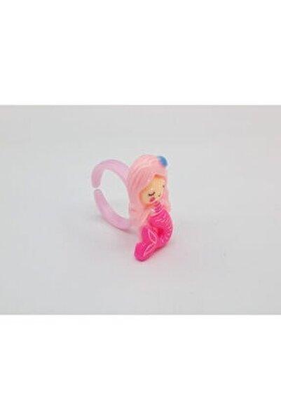 Trendyıldızı Denizkızı Figürlü Kız Çocuk Yüzüğü