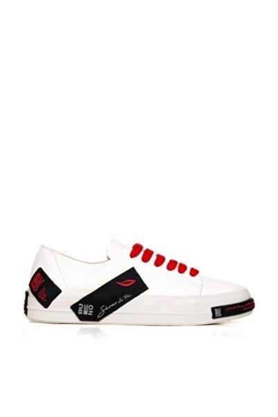 Kadın Siyah Beyaz Spor Ayakkabı