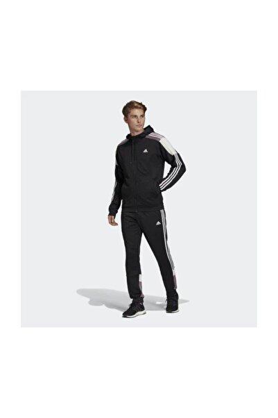 Erkek Siyah Mts Sport Eşofman Takımı Fl3631