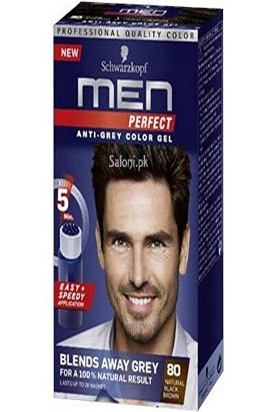 Men Perfect Anti Grey Color Gel 80 Siyah Kahve