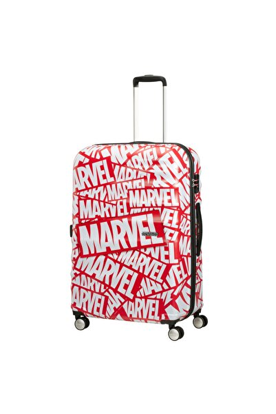 American Tourister Captain America Close-up - Büyük Boy 77cm Valiz