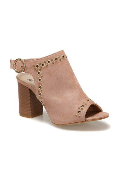 Butigo Kadın Pudra Topuklu Sandalet