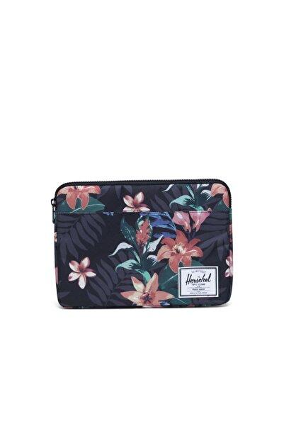 Herschel Supply Co. Anchor Sleeve For New 13 Inch Macbook Summer Floral Black Laptop Kılıfı