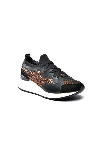 Riccardo Colli Kadın Siyah Günlük Ayakkabı Colli 8511