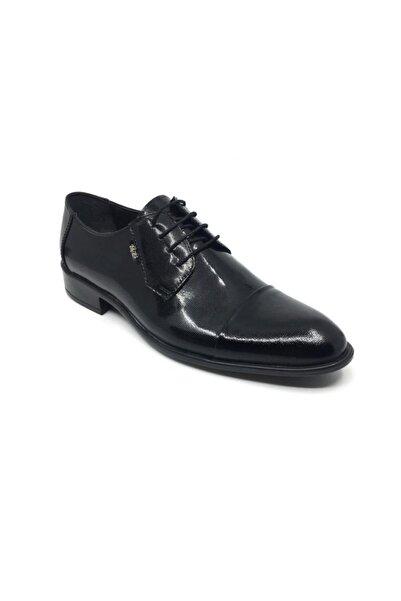 Taşpınar Erkek Siyah Üçlü Deri Klasik Yazlık Ayakkabı
