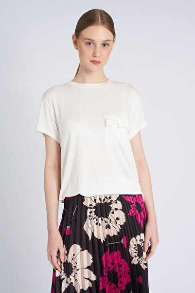 HomeStore Kadın Ekru T-Shirt 19250118120