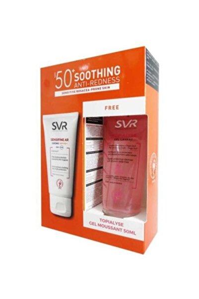 SVR Sensifine Ar Spf50+ Creme 50 Ml Topialyse Gel Lavant 50 Ml Hediye