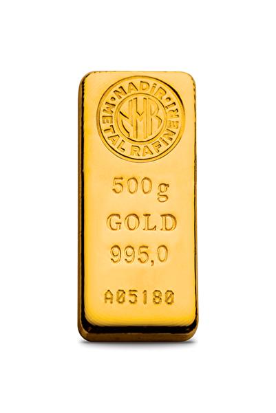 Harem Altın 500 gr 24 Ayar Külçe Altın