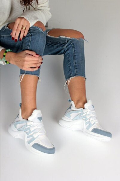 Kadın Mavi Spor Ayakkabı Y2020