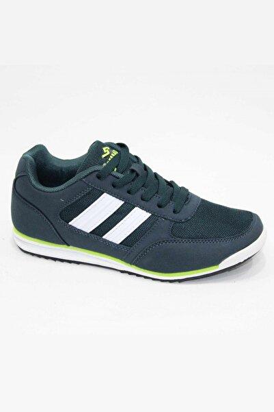 Jump 15451-gg Yeşil Beyaz Yürüyüş Spor Ayakkabı