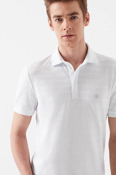 Erkek Beyaz Polo T-Shirt 064121-23248