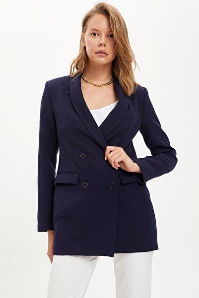 DeFacto Düğmeli Blazer Ceket