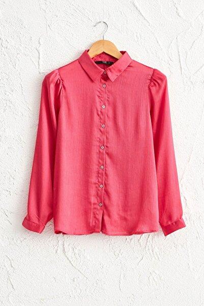 Kadın Orta Pembe Gömlek 0WBN50Z8