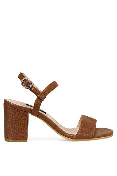Nine West Kadın Taba Ceva Sandalet