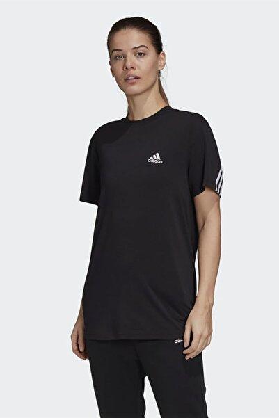 adidas Kadın Siyah Günlük Giyim T-shirt W Mh 3s Ss Tee Gh3798