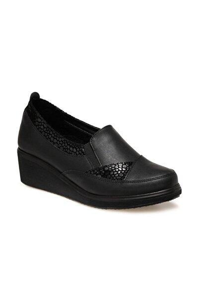 Polaris 161393.z Siyah Kadın Comfort Ayakkabı