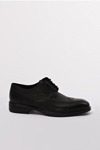 Hakiki Deri Sıyah Casual Ayakkabı 02AYH190550A100