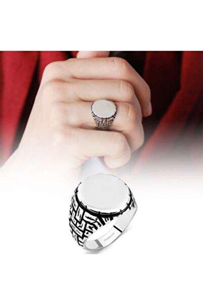 Online Hediye Sepeti 925 Ayar Gümüş Çukur Yüzüğü
