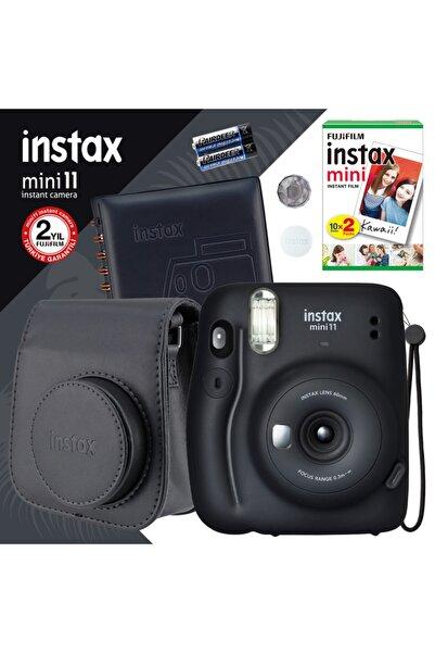 Fujifilm Instax Mini 11 Siyah Fotoğraf Makinesi Ve Kare Albümlü Hediye Seti 11