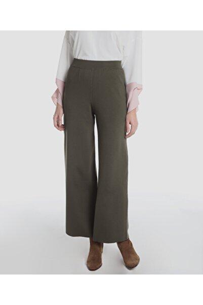 Aker Kadın Haki Triko Pantolon 1002