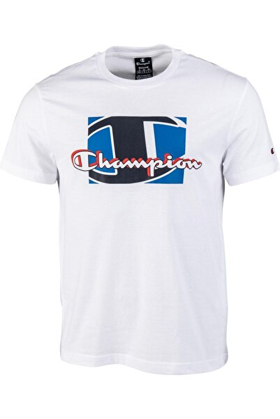 Champion Erkek Beyaz T-shırt 214308-ww001