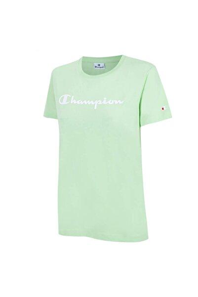 Champion Kadın Yeşil T-shırt 112602-gs047