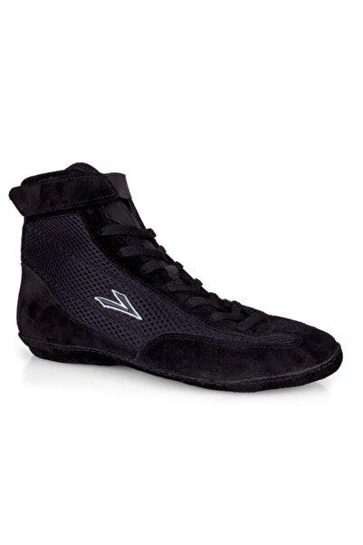LIG Unisex Siyah Güreş Ayakkabısı