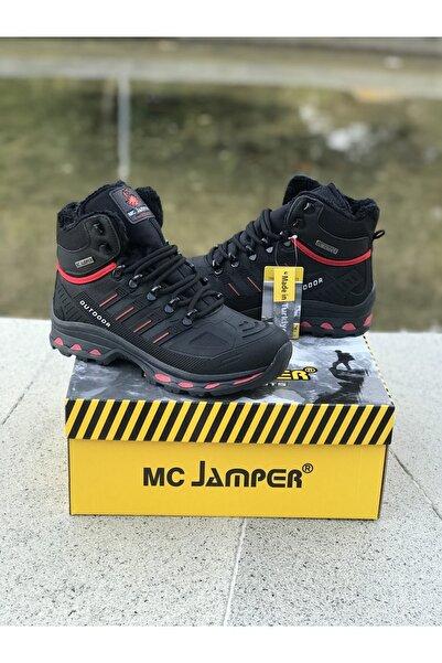 Marco Jamper Erkek Genç Siyah Kürklü  Bot