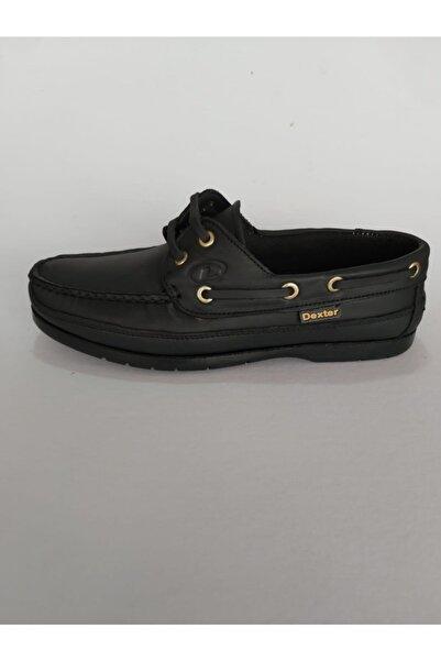 Dexter Hakiki Deri Siyah Ayakkabı