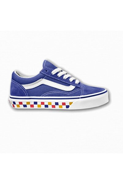 Vans Unisex Çocuk Mavi Sneaker